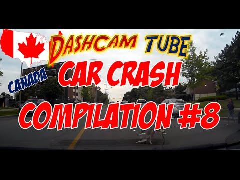 DashCam Tube Car Crashes Compilation #8 Special CANADA Edition