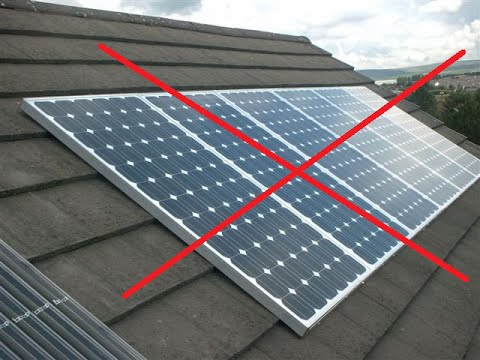 Mounting Your Own Solar Panels You Need To Know This