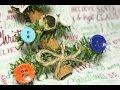 Cinnamon Stick Christmas Tree Ornament Tutorial Craft
