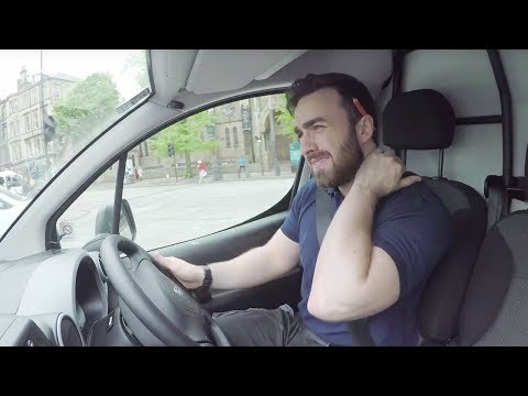 A Day in the Life of a Van Driver | Strain | AXA Business Insurance