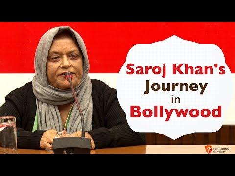 'Saroj Khan's Journey in Bollywood' | Interaction with Saroj Khan | Rishihood University