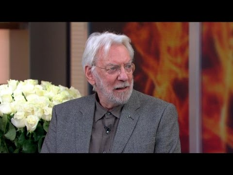 Donald Sutherland on 'Hunger Games: Mockingjay, Part 1'
