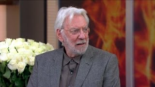 Donald Sutherland on 'Hunger Games: Mockingjay, Part 1'