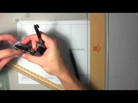HAND DRAFTING   GEOMETRIC CONSTRUCTIONS INTRO