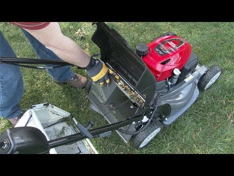 hrx217-k6-hza-lawn-mower-operation