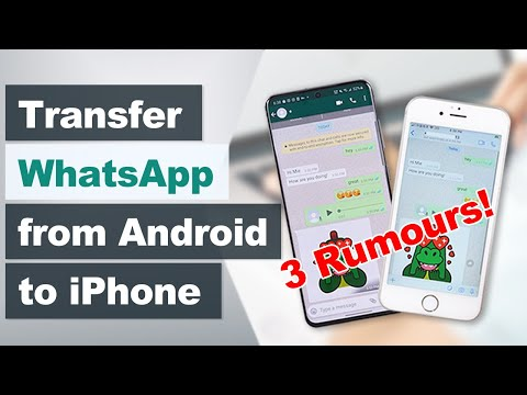 How to Transfer Whatsapp from Android to iPhone - Transfer WhatsApp Chats from Android to iPhone.