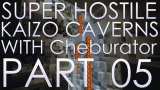 Kaizo Caverns 05 - Co-op На высоте за железом