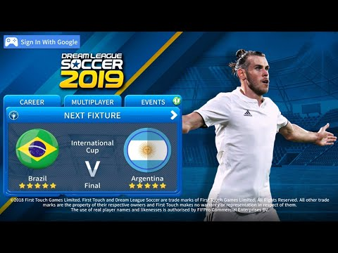 Dream League Soccer 2019 Official Gameplay🔥⚽🔥Brazil 🇧🇷 🆚 🇦🇷 Argentina 🏆 Final Match