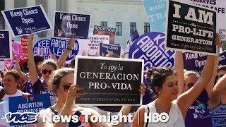 Georgia Abortion Fight & De Blasio 2020: VICE News Tonight Full Episode (HBO)