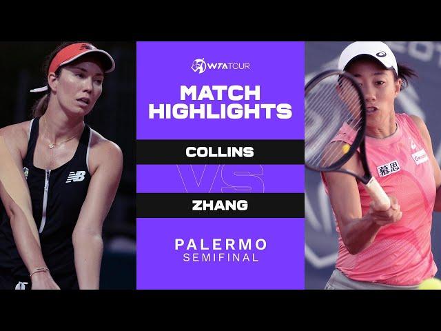 Danielle Collins vs. Shuai Zhang - Match Highlights