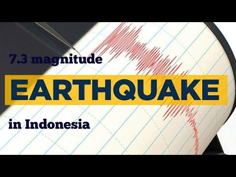 Indonesia earthquake 2019