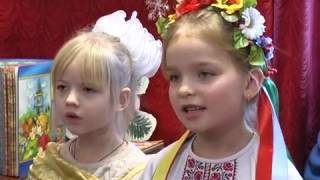 К детям Перещепино святой Николай пришел в библиотеку