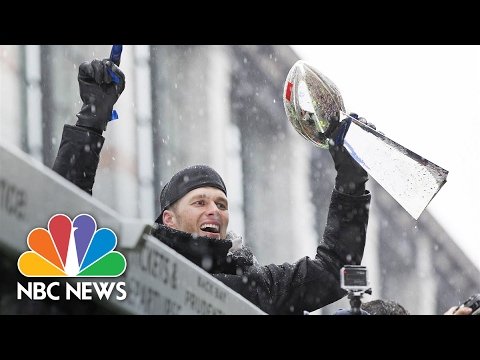New England Patriots Celebrate Super Bowl Win In Victory Parade | NBC News