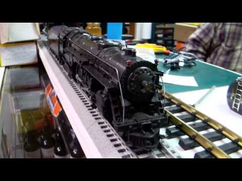 "Westchester Train & Hobbies  "" Model Train Backshop"" Lionel Post War 763 E"