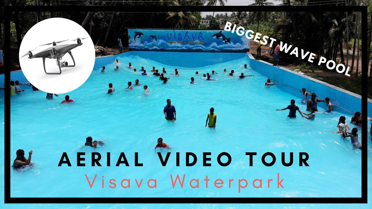 Visava Waterpark Beach Resort Arnala Complete Aerial Video Tour