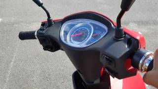 500 Watt Electric Scooter Speedster Moped With Pedals