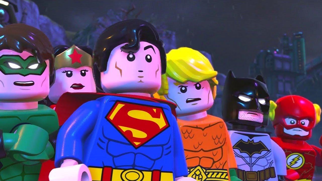 LEGO DC Super-Villains Walkthrough Part 1 - The New Justice League?