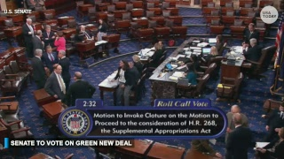 Senate to hold first vote on Green New Deal