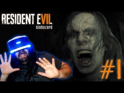 ME MUERO DE MIEDO!!! | PS4 | RESIDENT EVIL 7 VR #1