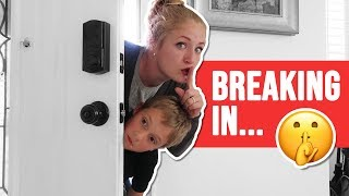 Breaking Into The Tannerites House!