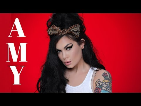 Amy Winehouse Inspired Tutorial - Bailey Sarian