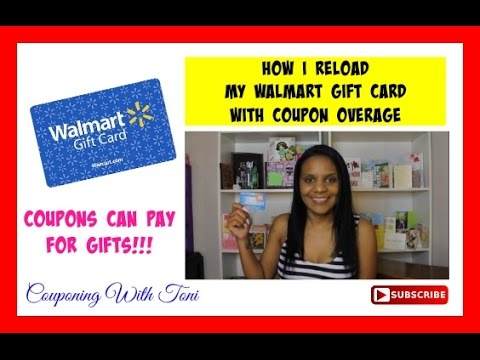 Reloading Walmart Gift Cards with OVERAGE (Video Request)