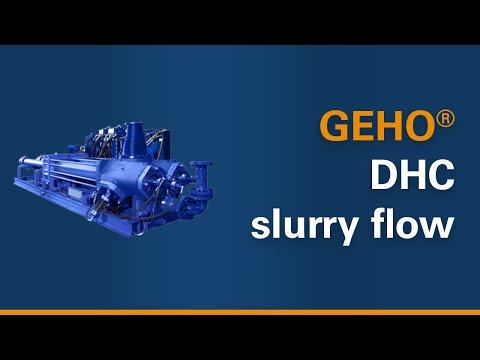 Geho Animation Geho Hydraulically Driven Piston Pump