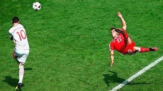 Goles Acrobáticos que te Dejaran con la Boca Abierta●HD||Craziest Acrobatic Goals in Football