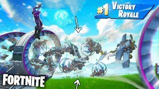 WHAT HAPPENS WHEN YOU SPAWN 1000 VEHICLES IN TUBES? | Fortnite Pt.43 [Season 9] Slipstream Glitches