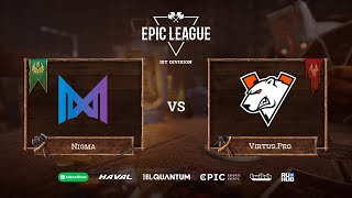 Фото Nigma Vs Virtus.Pro, EPIC League Season 2, Bo3, Game 1 [Mael \u0026 Lost]