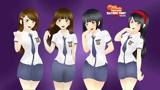 Visual Novel Dating Sims Masa SMA - Indonesia