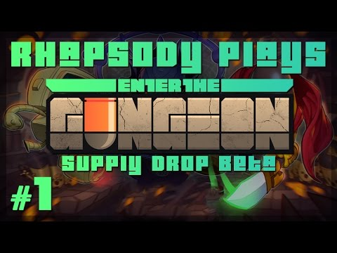Let's Play Enter the Gungeon Supply Drop Beta: Absorption - Episode 1