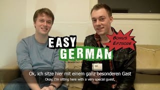 Easy German 63 (Bonus Material) - Interview with polyglot Alex Rawlings