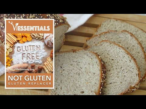 Gluten Free Sandwich Bread with Potato Protein #NOTGLUTEN