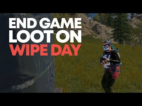 End Game Loot On Wipeday | Rust (Episode 1) thumbnail