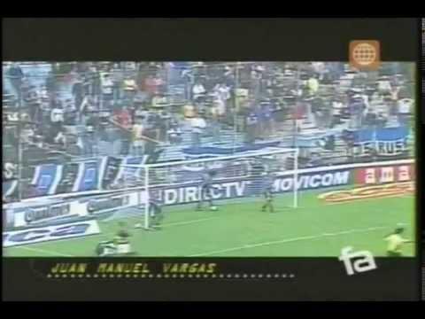 Futbol en America - Juan Manuel Vargas - Sus Goles