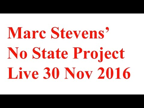 No State Project - Ep3 No State Project live Nov 30 - Part 1 of 2