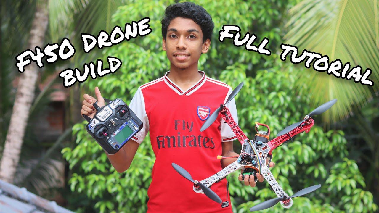 F450 drone full build tutorial