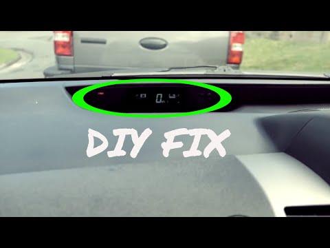 Prius Speedometer Cluster Diy Fix - Update - YouTube