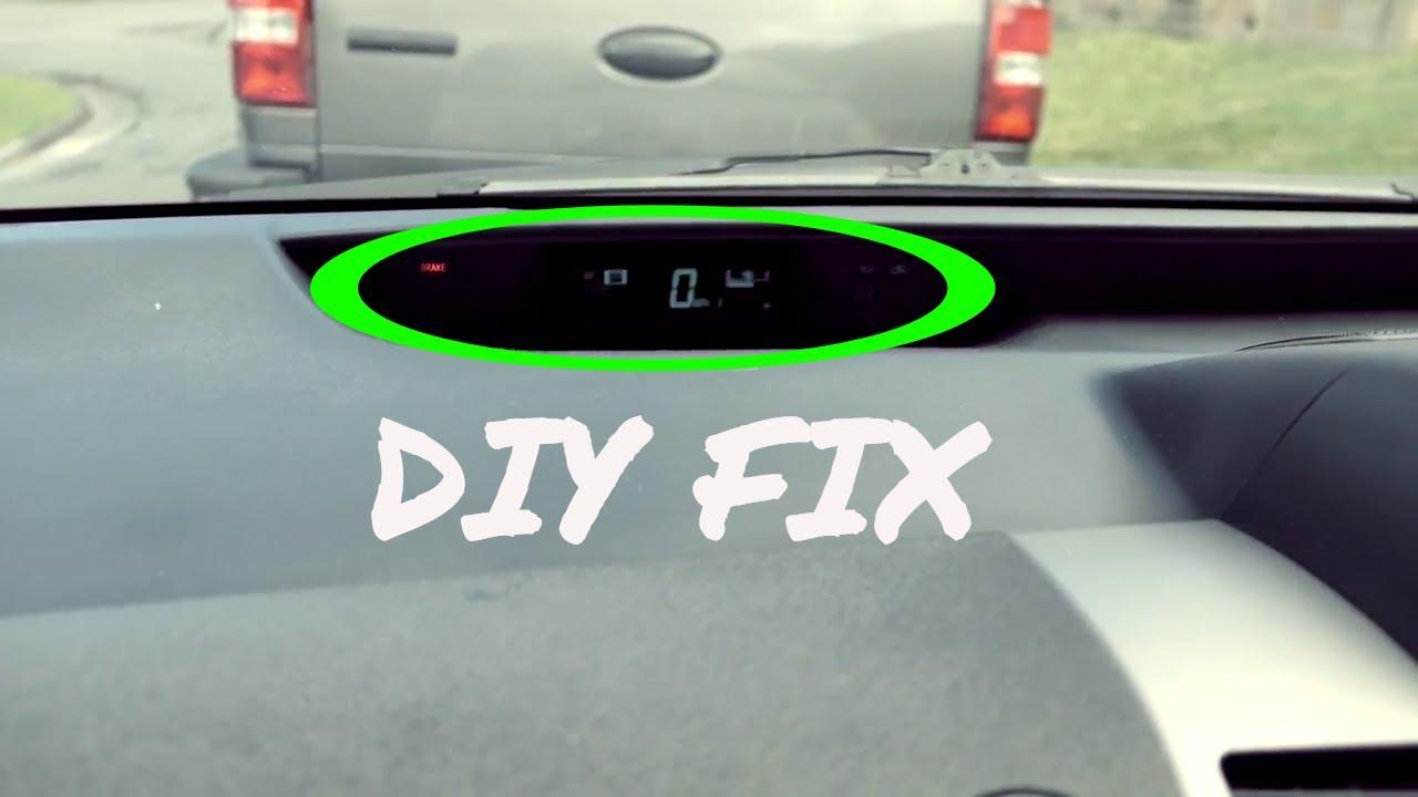 Prius Speedometer Cluster Diy Fix - Update