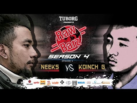 Neeks Vs Koinch G (Official Battle) | Tuborg Presents RawBarz Rap Battle S4E3 (Nepali)