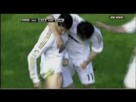 GOLAZO DE CRISTIANO RONALDO - Real Madrid vs Osasuna 5-1 IIHDII