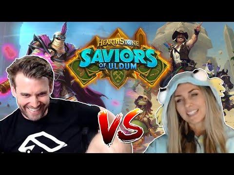 (Hearthstone) Saviors of Uldum: Plot Twist Warlock VS Slyssa