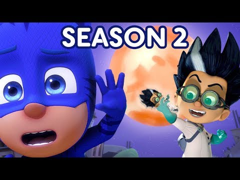 PJ Masks Full Episodes Season 2 LITTLE ROMEOS 🎃PJ Masks Halloween Special 🎃Cartoons for Kids