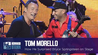 "Tom Morello Surprised Bruce Springsteen During ""The Ghost of Tom Joad"" Performance"
