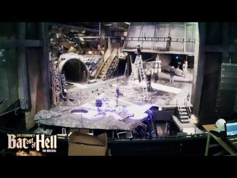 Building The Set | Manchester Opera House | Bat Out of Hell (Musical)