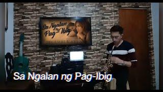 Sa Ngalan ng Pag-Ibig | December Avenue | Sax Cover