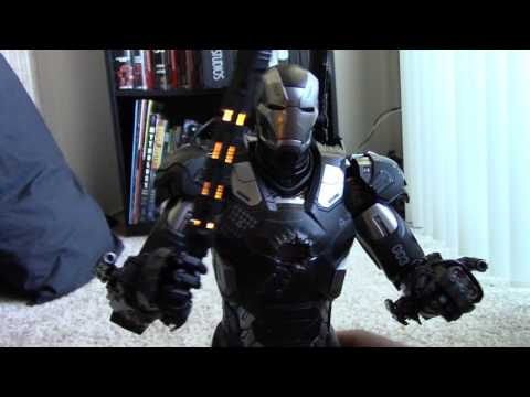 Hot Toys MMS 344 War Machine Mark 3 Review Unboxing