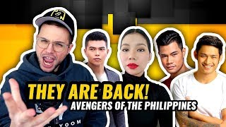 Katrina Velarde & Budakhel (Avengers of The PH) - One Sweet Day | ASAP Natin | REACTION
