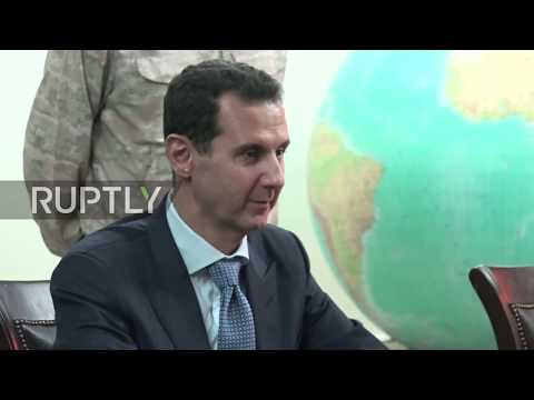 Syria: Assad expresses 'profound gratitude' to Putin for help in IS defeat